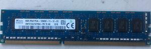 Hynix 8GB PC3L-12800E DDR3 2RX8 1.35V ECC UNBUFFERED Memory Ram HMT41GU7AFR8A-PB