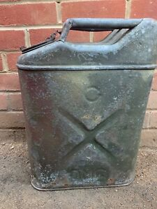 Original WW2 US Army Jerry Can - Normandy Camouflage Paint - 1941 Dated - USA