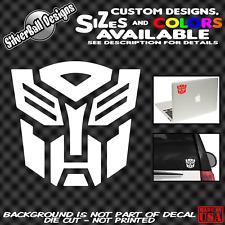 Transformers Autobot Custom Vinyl Decal car truck window laptop sticker JDM