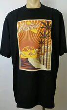 DAZED Streetwise Clothing T Shirt Black 2XL  Marijuana California Sunset Weed