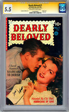 Dearly Beloved #1 Cgc-Ss 5.5 Signed By *Carmine Infantino* One & Only Issue 1952