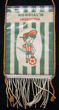 Banderín Orig. Copa del Mundo Argentina 1978-todos los equipos de participante + Gauchito! Raro