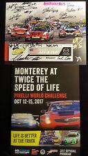 Mazda Laguna Seca Global MX 5 Cup Pirelli Program, Autographs, Ticket 2017