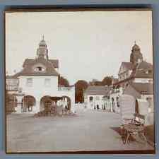 Deutschland, Nauheim (Hesse), Badehaus  Vintage citrate print. Vintage Germany