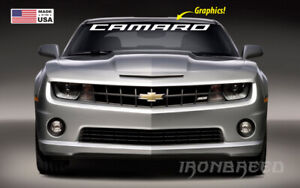 """Windshield Banner Fits:All Chevy Camaro SOLID SS RS ZL1 Decal Sticker 35"""" x 3.5"""""""