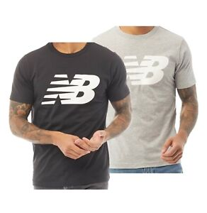 Mens New Balance Athletic Fit Short Sleeve Jersey T Shirt Sizes from S to XXL
