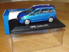 Opel Zafira OPC Modellauto 1:43 ardenblau