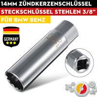 3/8'' Zündkerzen Steckschlüssel Einsatz Zündkerzenschlüssel 65mm Für BMW/Benz