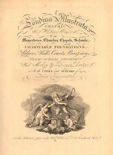 'LONDINA ILLUSTRATA'. Decorative title page. Volume 1. London. WILKINSON 1834