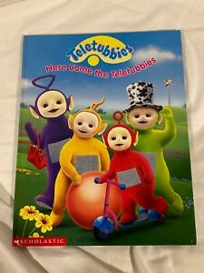 New Teletubbies Hardcover Book Here Come the Teletubbies