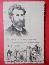 CAMILLE FLAMMARION  -  Astronome Français  1842 - 1925.