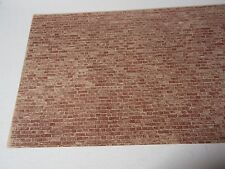 "miniature dollhouse J.Hermes wallpaper Used Brick 1:12 scale  11X17"" paper"