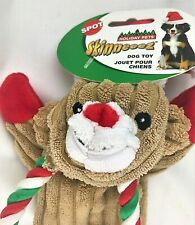"""Dog Toy Holiday Skinneeez Bear 18"""" Dog Pull Toy Spot Ethical Products"""