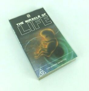 The Miracle Of Life ABC VIDEO  VHS