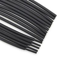 2mm BLACK Heatshrink Heat Shrink Cable Tubing 1 Meter