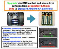 Upgrade to AA Mazak Nexus Relocation Device Lithium Battery 3.0V Fast US Ship!