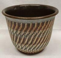 Pottery Planter Pot Vintage German Pottery 1960s