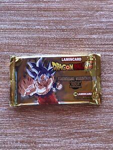 Dragon Ball Super UNIVERSE SURVIVAL Limited Gold Edition Lamincard Bustina
