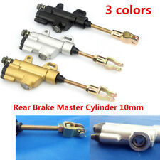 10mm Rear Hydraulic Brake Master Cylinder For Bike 50/70/90/110/125/150/200cc
