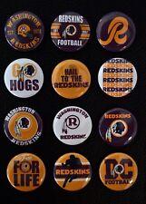 "Washington Redskins Football - 1"" Pinback Buttons"