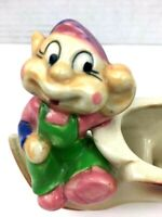 "Elf on Shoe Made in  Japan Vintage Figurine Planter Springtime Easter 3 3/4""T"