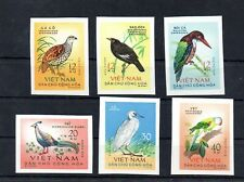Stamps of Vietnam 1963  #  275-280 MNH BIRDS 45.-Euro  IMPERF