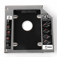 Universal 12.7 mm SATA 2nd SSD HDD Hard Drive Caddy for DVD-ROM CD Optical Bay