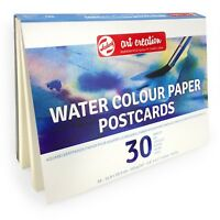 Royal Talens – Art Creation Water Colour Paper Postcards – 30 Sheets – 200gsm