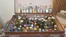 125 Mignonnettes bouteilles lot international - Mini Liquor Bottles