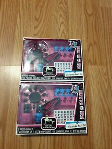 Nail Polish 2 Set Monster High Clawsome Decals Nails File Toe Spacers BRAND NEW