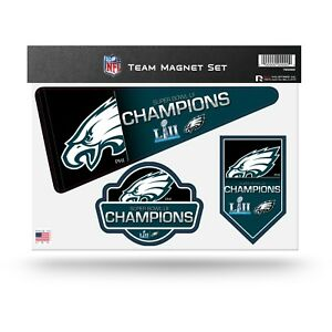 Philadelphia Eagles Super Bowl LII Champions Magnetic Magnet Decals NFL Football