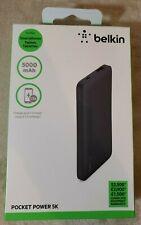 Belkin F7U019BTBLK 5000mAh Portable Ultra Thin Battery Charger - Black