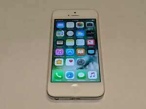 Apple iPhone 5 A1429 Verizon Wireless 16GB White/Silver Smartphone/Cell Phone