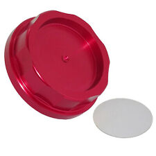 CNC Aluminum Power Engine Oil Filler Fuel Cap Cover Red For HONDA ACURA