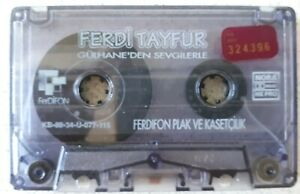 FERDi TAYFUR Konser Kassette,Gülhane'den Sevgilerle, Ferdifon KB.89.34.Ü.077.115