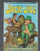 Jack and Jill Magazine March 1973 Leprechaun Cover  Albert Einstein