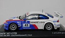 1/43 Minichamps 2004 BMW M3 GTR ADAC #43 Stuck Lamy Said Huismann 400042343