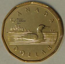2002 Canada Double Date Loonie BU