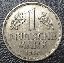 1950 J GERMANY - 1 DEUTSCHE MARK - COPPER-NICKEL - Nice