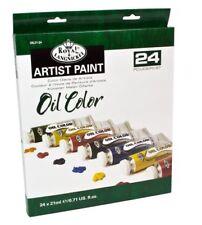 Royal & Langnickel peinture À L'huile 24 x 21ml couleur de L'artiste huile