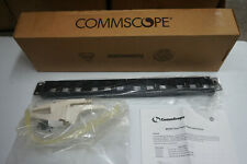 CommScope M2000-type Patch Panel for network rack 1U 24 Port Panel