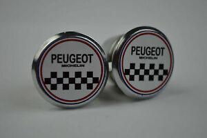 Peugeot Handlebar End Plugs Bar Caps lenkerstopfen bouchons flat vintage style