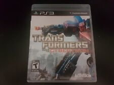 Transformers: War for Cybertron [PS3] [PlayStation 3] [Complete!]