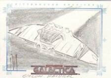 Complete Battlestar Galactica sketch (SketchaFEX) Cylon Raider Schaefer