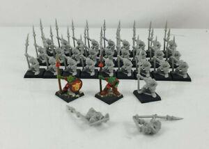 Goblin Spearmen X32 Warhammer plastic 90's OOP