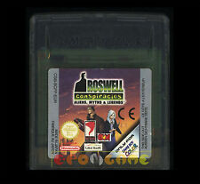 ROSWELL CONSPIRACIES Gameboy Color Versione Europea ••••• SOLO CARTUCCIA