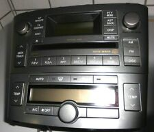 Toyota Avensis T25 Auto CD Player Radio 86120-05081 Klimabedienteil