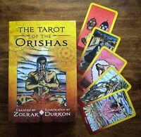 TAROT OF THE ORISHAS BOOK & DECK YORUBA SANTERIA BRAZILIAN BY Zolrak/Durkon