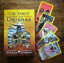 TAROT OF THE ORISHAS BOOK & DECK YORUBA SANTERIA BRAZILIAN BY Zolrak/Durkon