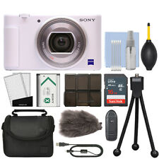Sony ZV-1 20.1MP Digital Camera 4K Video Blanco + Kit de 16GB